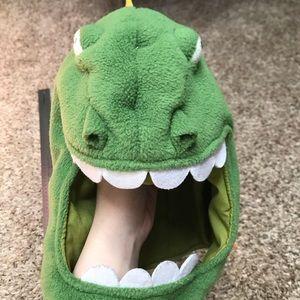 Dinosaur monster Godzilla reptar lizard hood warm